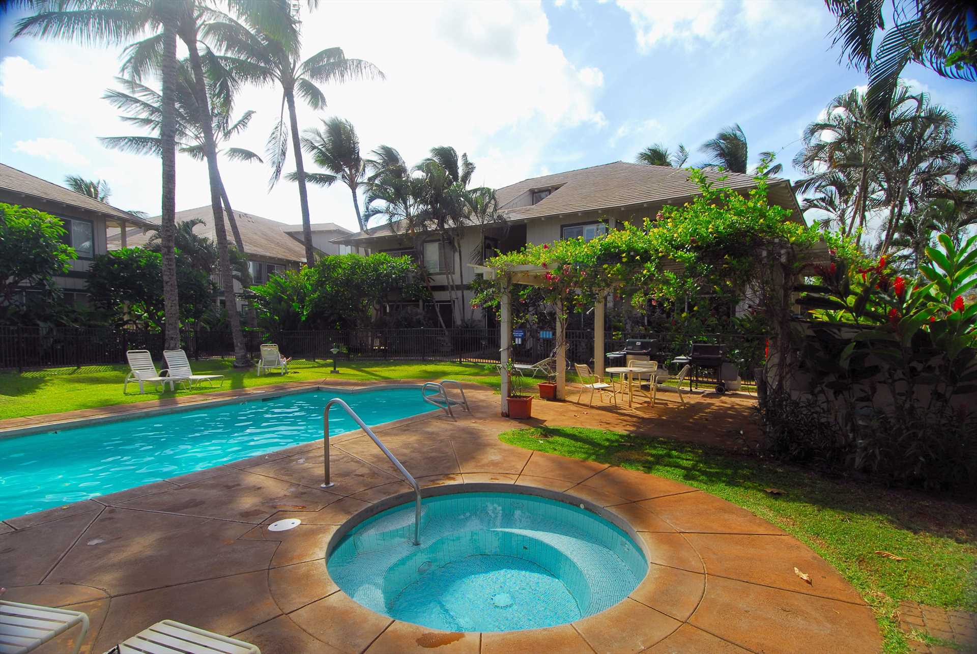 Regency at Poipu Kai pool for our guest use
