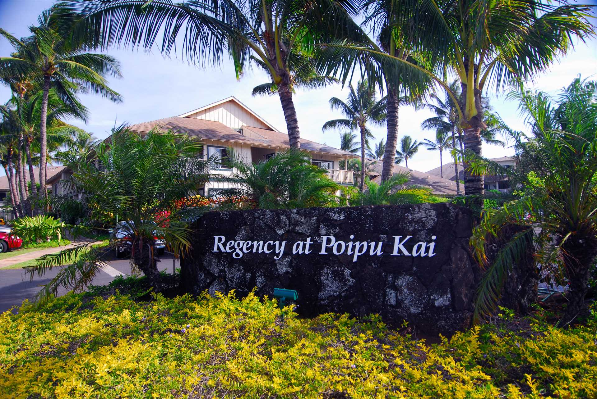 Entrance to Regency at Poipu Kai Resort